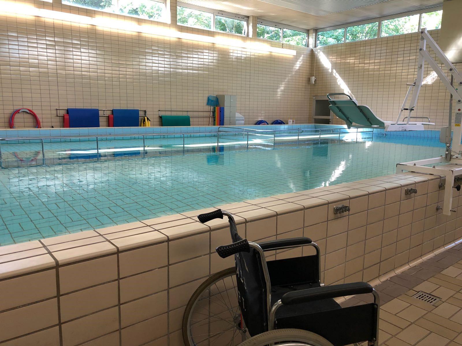 Schwimmkurse für Kinder mit Handicaps